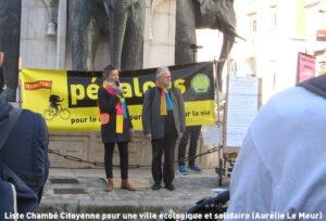 Liste Chambé Citoyenne pour une ville écologique et solidaire (Aurélie Le Meur)