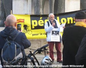 Liste Chambéry Sociale et Ecologiste (Sarah Hamoudi-Wilkowsky)