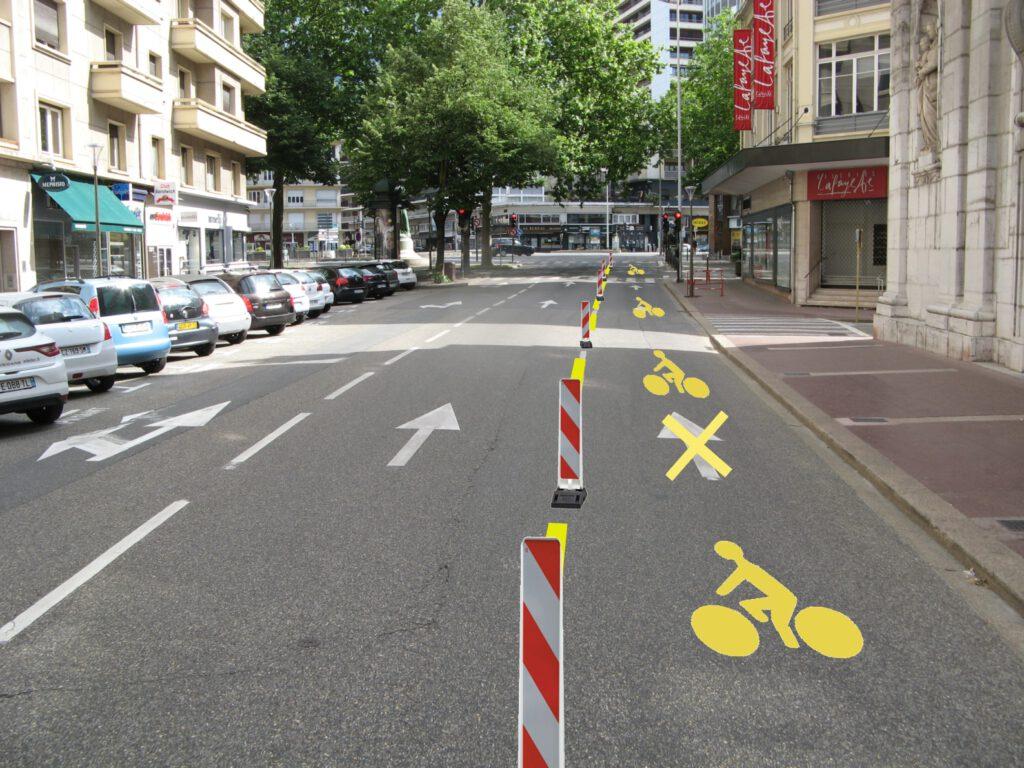 Pour Des Amenagements Cyclables Temporaires Dans Grand Chambery Roue Libre